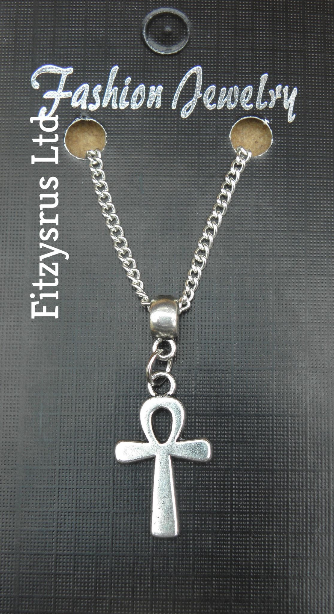 "18"" 24"" Inch Necklace & Ankh Pendant Charm Key of Life The Nile - Crux Ansata"