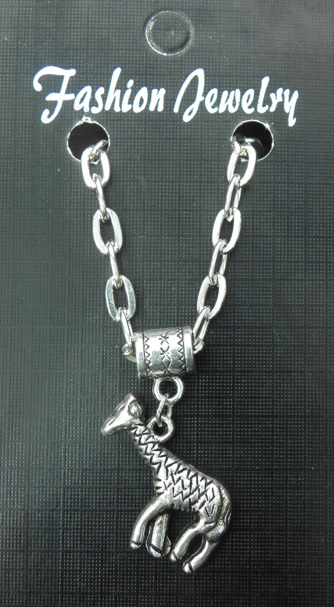 "20"" 24"" Inch Chain Necklace & Giraffe Pendant Charm Animal Lovers Gift Souvenir"