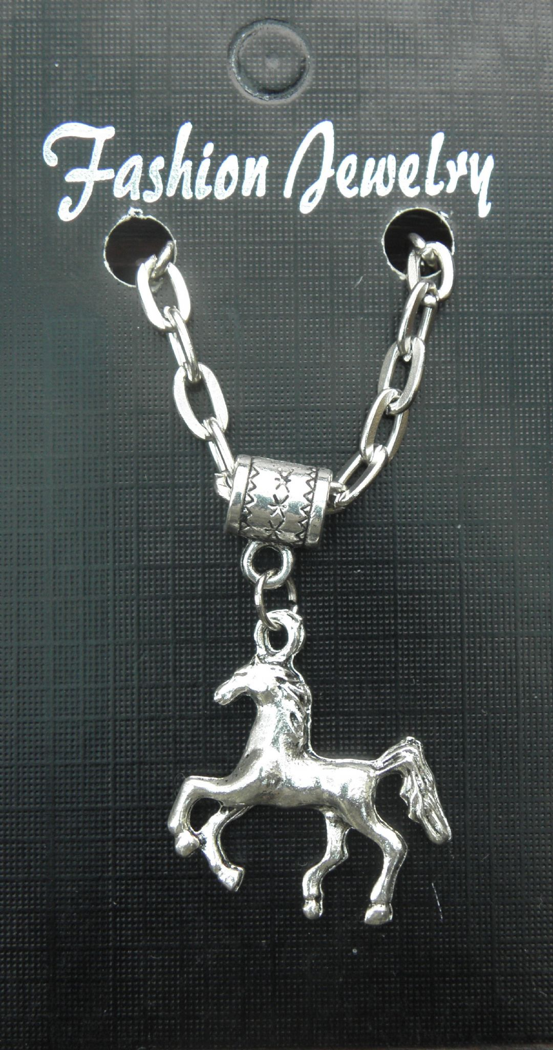 "20"" 24"" Inch Necklace & Horse Pony 3D Pendant Charm - Animal Lovers Souvenir New"