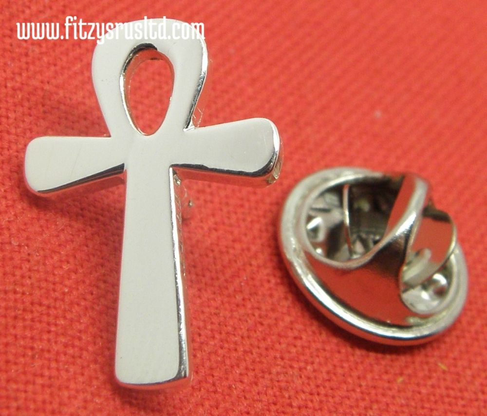 Ankh Lapel Hat Cap Tie Pin Badge Brooch Key of Life The Nile Crux Ansata