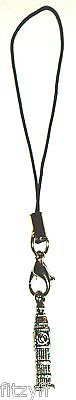 Big Ben Clock Mobile Phone Strap Handbag Charm UK LONDON ENGLAND SOUVENIR - New